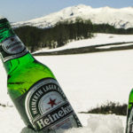 Beers in Snow